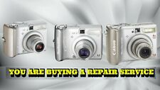 CANON PowerShot A510 / A520 or A530 REPAIR SERVICE WITH A 60 DAY WARRANTY