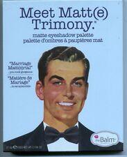 TheBALM Meet Matt(e) Trimony-9 Shadow Palette-Brand New!!!