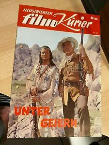 Illustrierter Film Kurier Nr. 21 - Karl May - Unter Geiern - gelocht