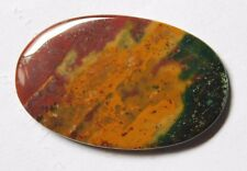 40.15 Cts Natural Blood Stone cabochon Loose Gemstone 42X26X4 MM