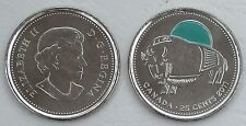 Kanada / Canada 25 Cents 2011 p1168a CuNi unz.