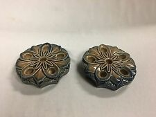 Vintage Pair of Irish Wade Taper (Candle) Stick Holders