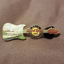 More details for manchester milestones series #3 ship canal guitar hard rock cafe pin #55089