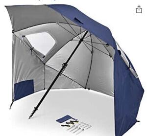Sport-Brella Premiere XL UPF 50+ Umbrella Shelter for Sun and Rain Protection