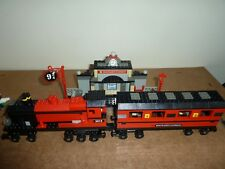 LEGO HARRY POTTER 4708 HOGWARTS EXPRESS TRAIN & STATION COMPLETE 3 FIGURES INSTS