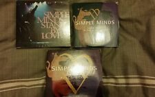 SIMPLE MINDS LOVE SONG ALIVE AND KICKING 2 CD SET STAND BY LOVE DIGIPACK CD