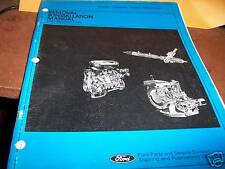 Ford 1981 Escort/Lynx Removal & Installation Manual