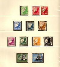 GERMANY STAMPS, #529-538 USED, CV 95 EURO