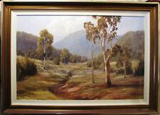 Pat Murphy Australian original oil 'In the Hills of Coonabarabran'