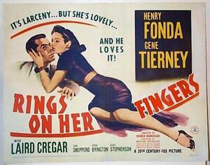 Rings On Her Fingers 1942 - Gene Tierney, Henry Fonda, Laird Cregar