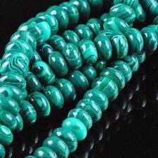 "5X8MM Green Malachite Gemstone Abacus Loose Beads 15"""