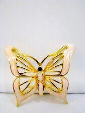 D'Orlan Brosche Emaille Schmetterling Brooch Enamel Butterfly