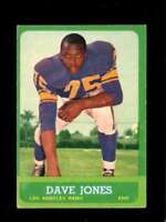 1963 TOPPS #44 DEACON JONES VG+ (RC) LA RAMS HOF  *XR23460