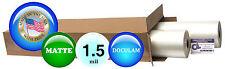 Doculam Hot Laminating Film 27 X 500 On 1 Core 15 Mil 2 Rolls Matte