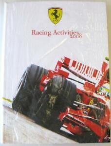 FERRARI RACING ACTIVITIES 2008 Motor Sport Car Book