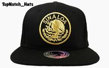 Sinaloa Federal Black And Gold Hat Brand New Ships Now !!!