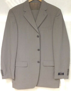 Mens REDA Designer Suit 100% Pure Wool.Tall Size 40 Chest/34 Waist/35 Leg. New