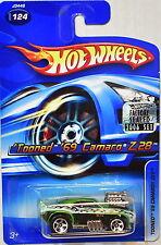 HOT WHEELS 2006 'TOONED '69 CAMARO Z28 #124 FACTORY SEALED