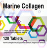 Marine Collagen Pure 600mg Natural Healthy Diet Supplement x 120 Tablets