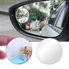 1 Stück Auto silber rund Toten Weitwinkel Rücksicht Rückspiegel Spiegel 5cm NEU