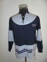 rare vintage 80s REEBOK sweatshirt pullover 80er oldschool sweater jumper M