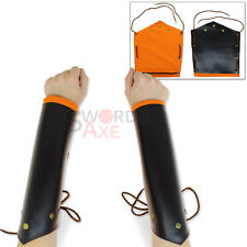 Undead Dark Knight Arm Bracers Armor Wrist Forearms Protection Cordura Leather