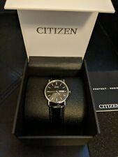 Citizen Eco Drive BM8240-03E Men's Watch Leather Strap 36mm