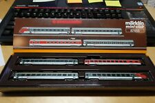 Marklin 87455 - Mini Club Z Gauge Swiss Push-Pull Carriage Set