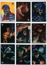 """Topps Universal Monsters 11 Card Set """" The Wolf Man"""" 1994"""