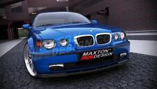 Front splitter (texturé) pour BMW 3 E46 compact (2000-2004)