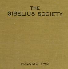 "LONDON SYMPH. & KOUSSEVITZKY ""The Sibelius Society II"" Symph. No. 7 + 3    A218"