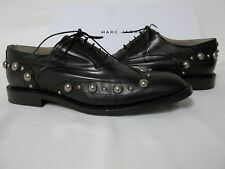 Marc Jacobs Size EU 39 US 9 M MJ21089 Black Leather Oxfords New Womens Shoes