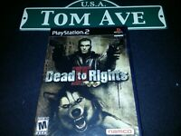 Dead to Rights II [Namco Sony PlayStation 2 PS2