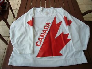 CCM Wayne Gretzky Canada Cup Authentic Fight Strap Double Tag Jersey sz. 54 vtg