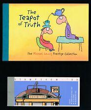 "Australia Booklets ""Teapot"" #1685-89 & ""Stamp Show"" #1156b; Mnh"