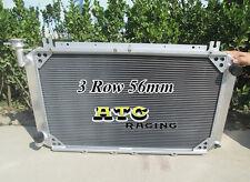 3 Rows for NISSAN Patrol GQ 2.8 4.2 DIESEL TD42 3.0 PETROL Y60 Aluminum Radiator