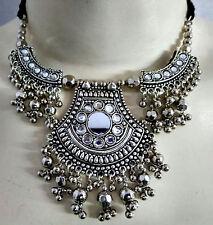 New Kuchi Tribal Necklace Earrings Belly Dance Hip Jewelry Ethnic Gypsy ATS Boho