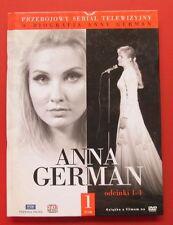 DVD  Anna German Odcinki 1-4 Serial + Biografia Telewizija Polska TOM 1