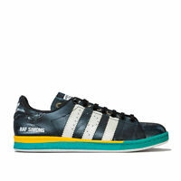 Mens adidas Originals Mens Raf Simons Samba Stan Smith Trainers in Black-White -
