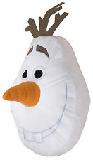 NUOVO Disney Frozen Olaf forma pupazzo di neve Cuscino Comodo Cuscino ragazze
