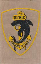 21° Régiment d'Infanterie Coloniale, brodé, (1936 - 1937), en tissu, (7154)