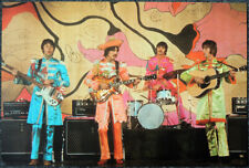 THE BEATLES POSTER PAGE . 1967 HELLO GOODBYE PROMO VIDEO . SGT PEPPER COSTUME 6V