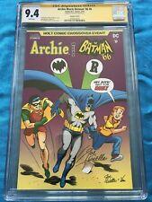 Archie meets Batman '66 #6 - DC - CGC SS 9.4 NM - Signed by Joe Giella