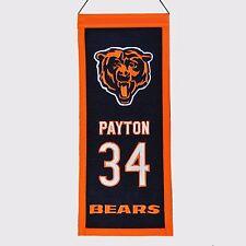 WALTER PAYTON CHICAGO BEARS RETIREMENT BANNER #34 HOF RARE SWEETNESS