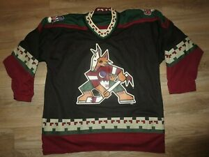 Phoenix Arizona Coyotes Yotes Head starter Reversible NHL Hockey Jersey XL