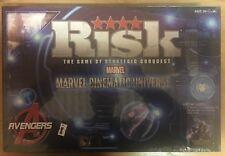 Marvel Cinematic Universe AVENGERS RISK BOARD GAME - New, Sealed - hasbro