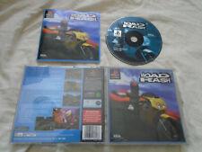 Road Rash PS1 (COMPLETE) Sony PlayStation black label motorbike racing