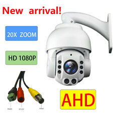 AHD 20X ZOOM 1080P  2.0MP SONY CMOS Pan Tilt  PTZ Camera CCTV Security Outdoor