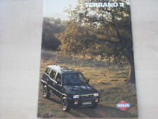 53563) Nissan Terrano II Prospekt 11/1995