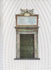 folder postale  2016  giubileo della misericordia - porta di bronzo - lamina bro